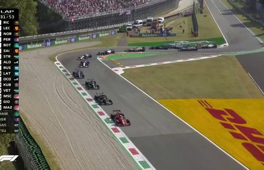 Гран-при Италии в «Формуле-1» выиграл австралийский гонщик Даниэль Рикардо
