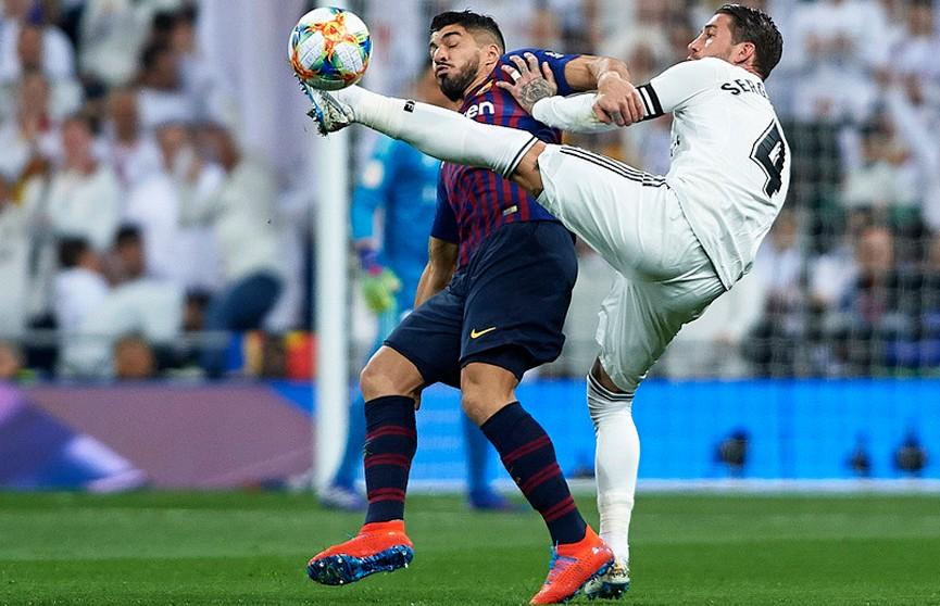 «Барселона» разгромила «Реал» в полуфинале Кубка Испании по футболу