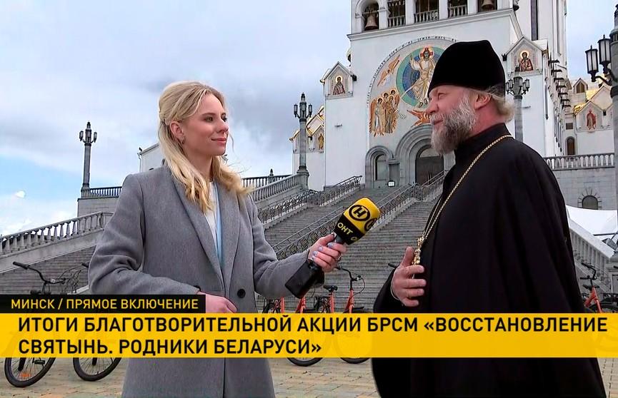 Итоги акции «Восстановление святынь. Родники Беларуси»: полсотни волонтеров БРСМ примут благодарности от представителей духовенства