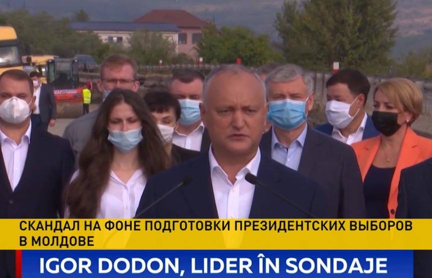 Выборы в Молдове: Вашингтон готовит цветную революцию, если победит Игорь Додон
