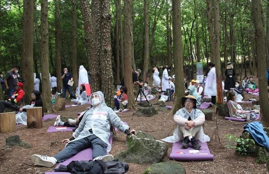В Южной Корее прошли ежегодные соревнования, на которых нужно ничего не делать
