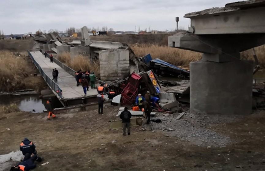 Автомобильный мост обрушился в Воронежской области