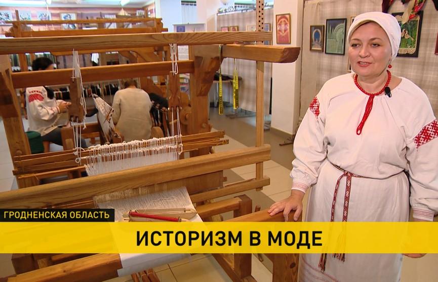 Мастерская с ткацкими станками по технологии 200-летней давности появилась в Лиде