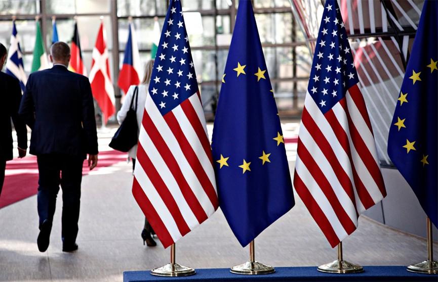 США хотят обложить дополнительными пошлинами европейские товары суммой в 11 млрд USD