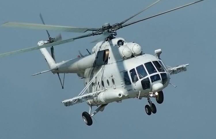 Два человека погибли в результате крушения вертолёта