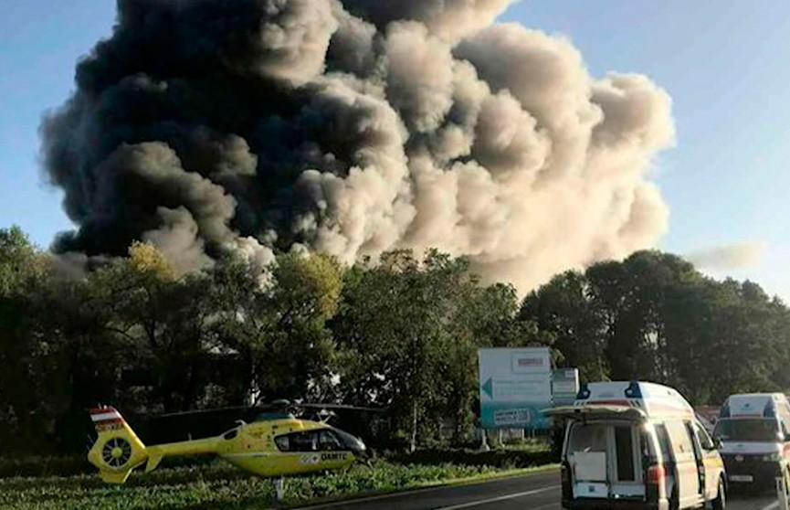 Взрыв в Линце: полиция не рассматривает версию теракта