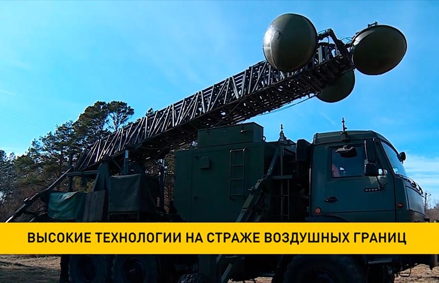 Новые радиорелейные станции получили белорусские войска ПВО