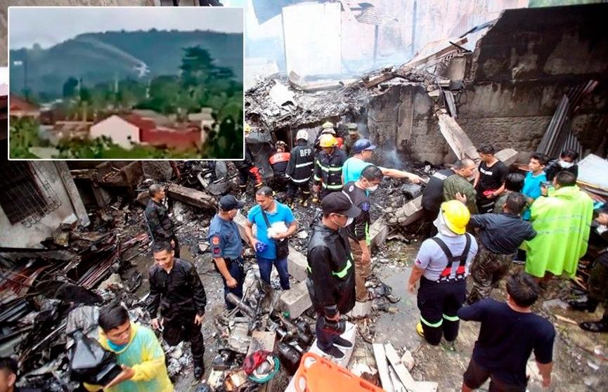 На Филиппинах разбился легкомоторный самолет: девять человек погибли