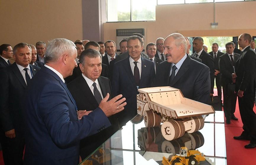 Выставка «Сделано в Беларуси» открылась в Ташкенте