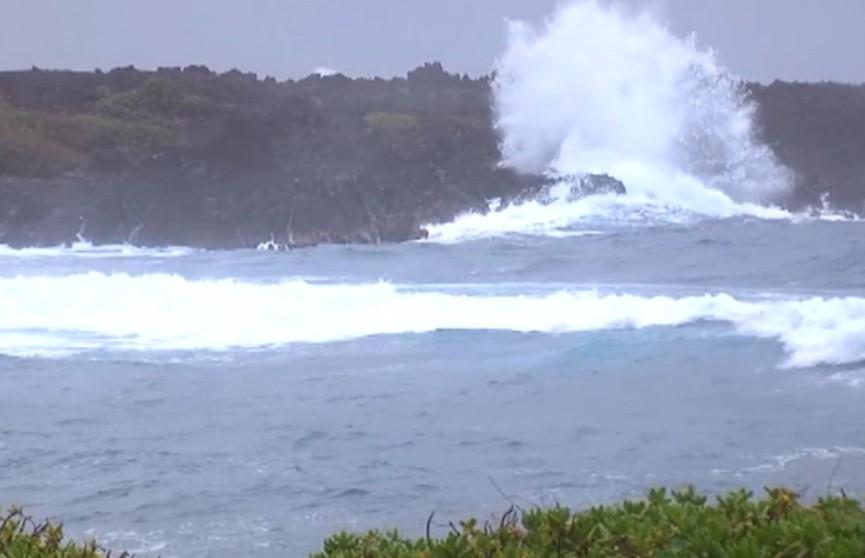 Ураган «Лейн» обрушился на Гавайские острова