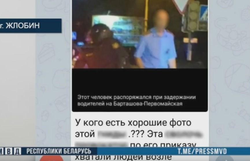 В МВД возбудили уголовные дела на двоих жителей Жлобина, оскорбивших в Telegram милиционера