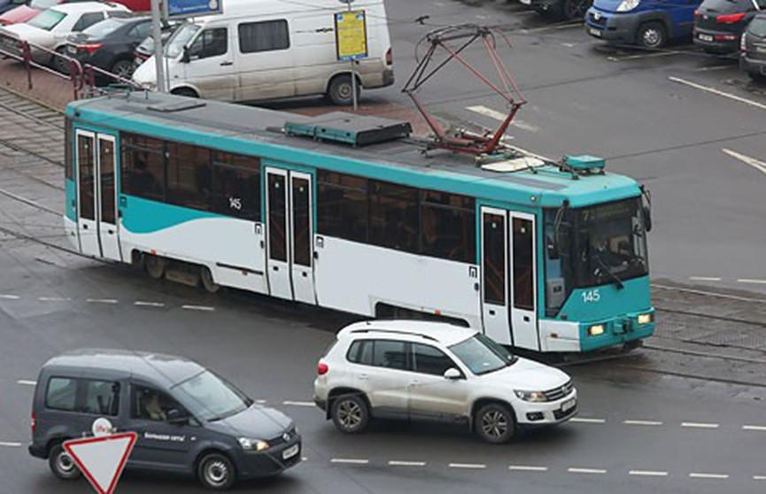 Движение трамваев перекроют на Логойском тракте в Минске 20 сентября