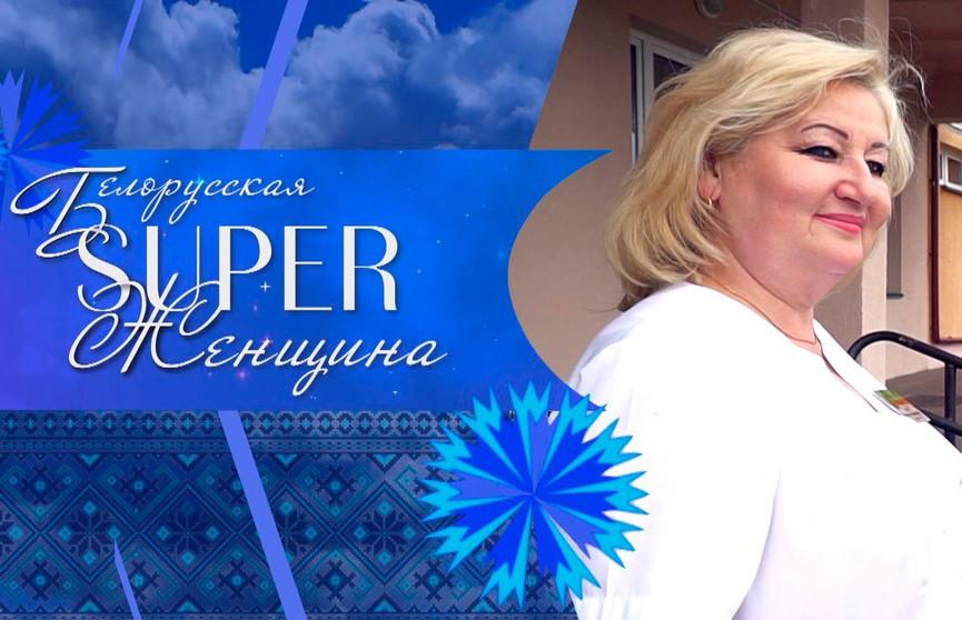 Новая героиня проекта «Белорусская SUPER-женщина» – главврач Столбцовской районной больницы Светлана Глебко