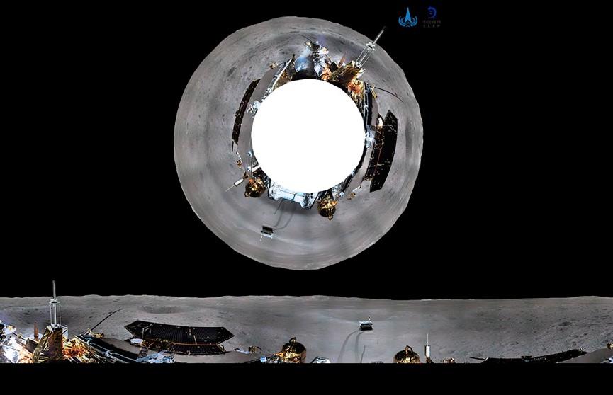 Опубликованы панорамные снимки обратной стороны Луны