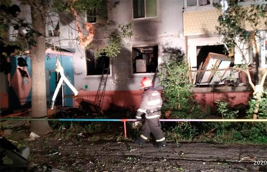 Бытовой газ взорвался в девятиэтажке в Бобруйске