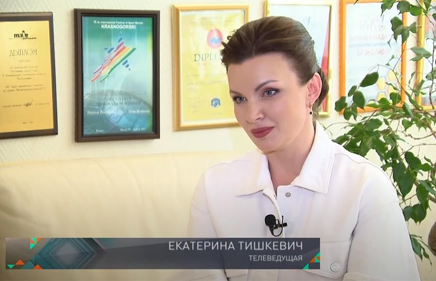 «Это искусство». Ведущая «Наших новостей» на ОНТ Екатерина Тишкевич – о технике речи, курсах телеведущих и «голосовой диете»