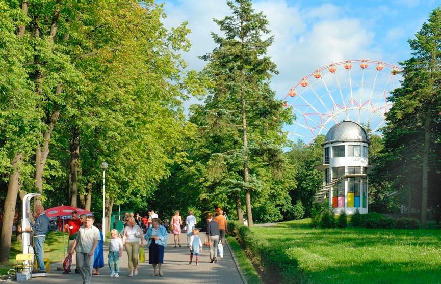 Аттракционы начнут работать в Минске со второй половины апреля