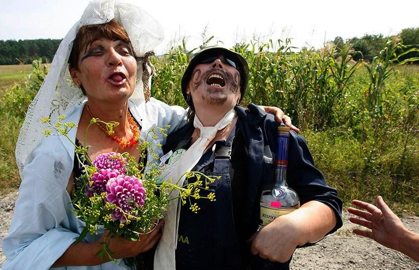 Деревенская свадьба! Такого вы еще не видели. Только посмотрите на шестой номер!
