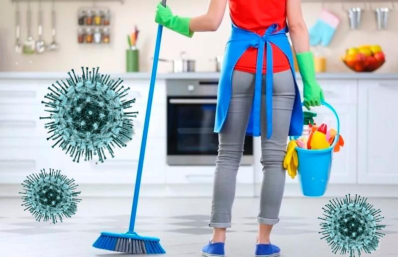 Как правильно дезинфицировать дом во время коронавируса