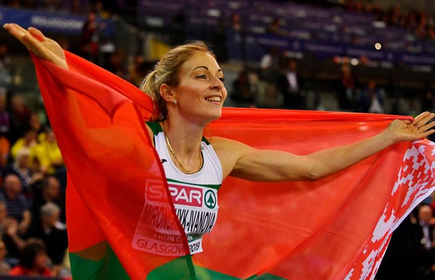 Белорусская легкоатлетка Анастасия Мирончик-Иванова выиграла крупный турнир в Германии