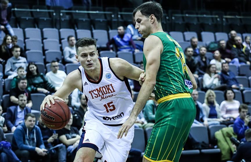 «Цмокі-Мінск» взяли верх над кипрским АЕКом в Кубке FIBA