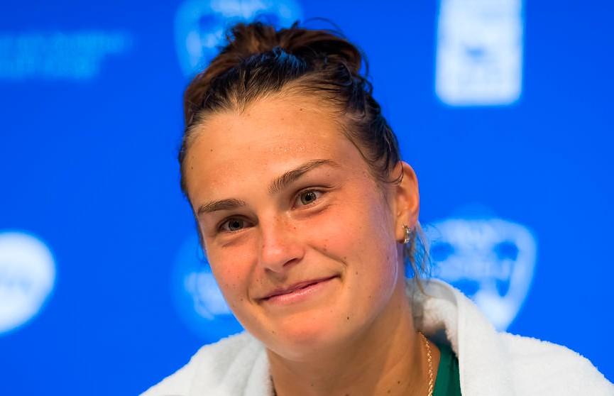 Арина Соболенко с победы стартовала на теннисном турнире в Страсбурге
