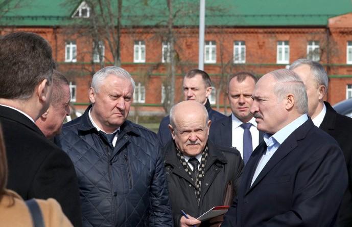 Александр Лукашенко посетил Бобруйск с рабочей поездкой