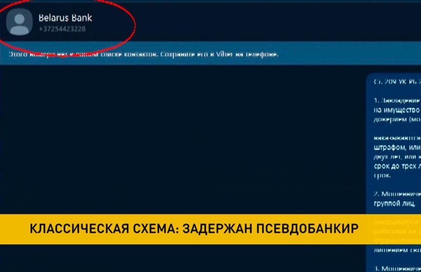 В Минске задержали мужчину, который похищал деньги, названивая клиентам банка в мессенджере