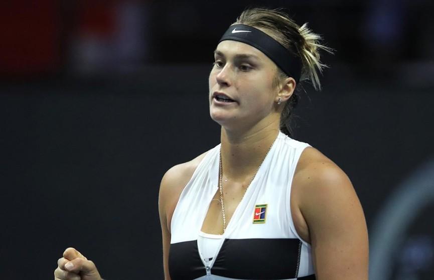 Арина Соболенко вышла в полуфинал турнира в Санкт-Петербурге, переиграв Екатерину Александрову
