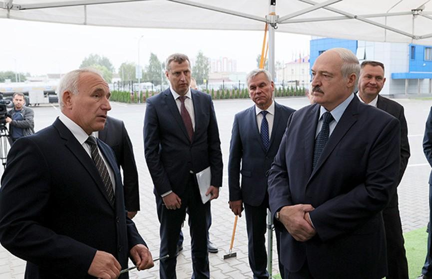 Александр Лукашенко с рабочей поездкой посетил Оршанский район