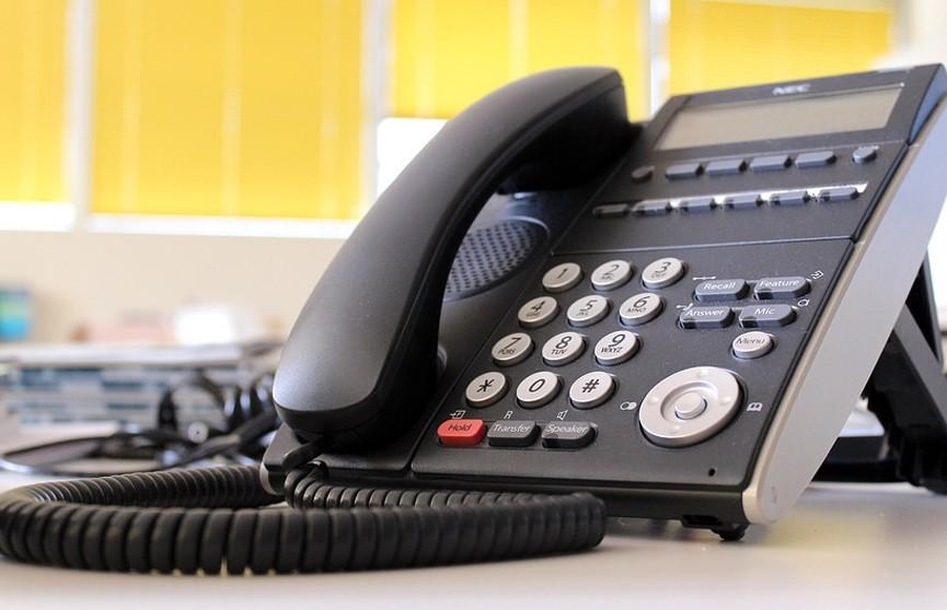 20 марта прямые телефонные линии пройдут во всех исполкомах страны