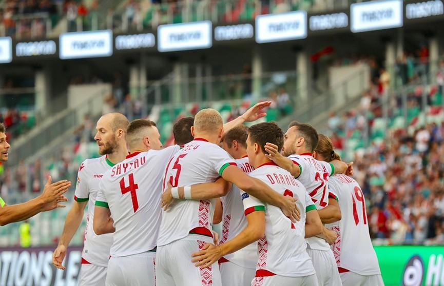 Футболисты сборной Беларуси разгромили команду Сан-Марино на старте Лиги наций