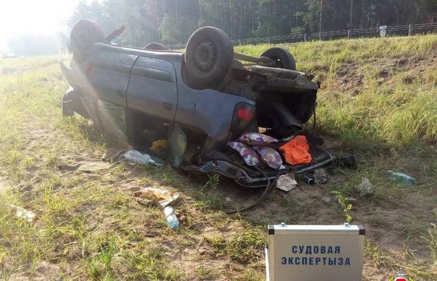 Дети пострадали в ДТП на трассе Минск-Гомель