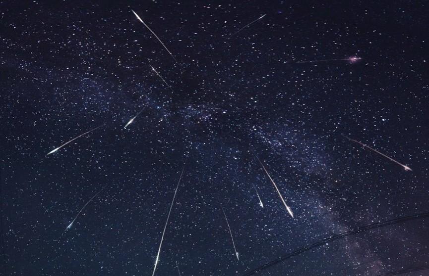 В ночь с 12 на 13 августа белорусы увидят самый красивый звездопад года