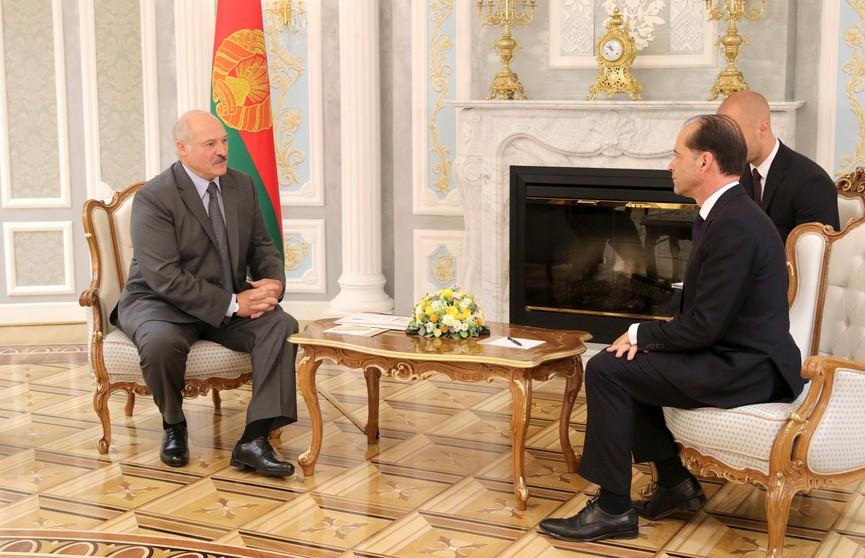 Лукашенко провёл переговоры с министром по торговой политике Великобритании Джорджем Холлингбери