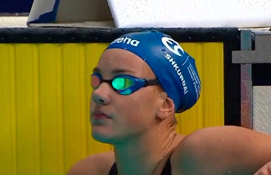 Анастасия Шкурдай завоевала второе золото юниорском ЧЕ по плаванию в Казани