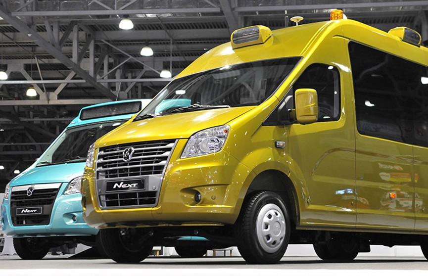 ГАЗ показал свои беспилотные микроавтобусы