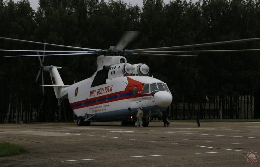 Белорусский вертолет Ми-26 будет помогать тушить пожары в Турции