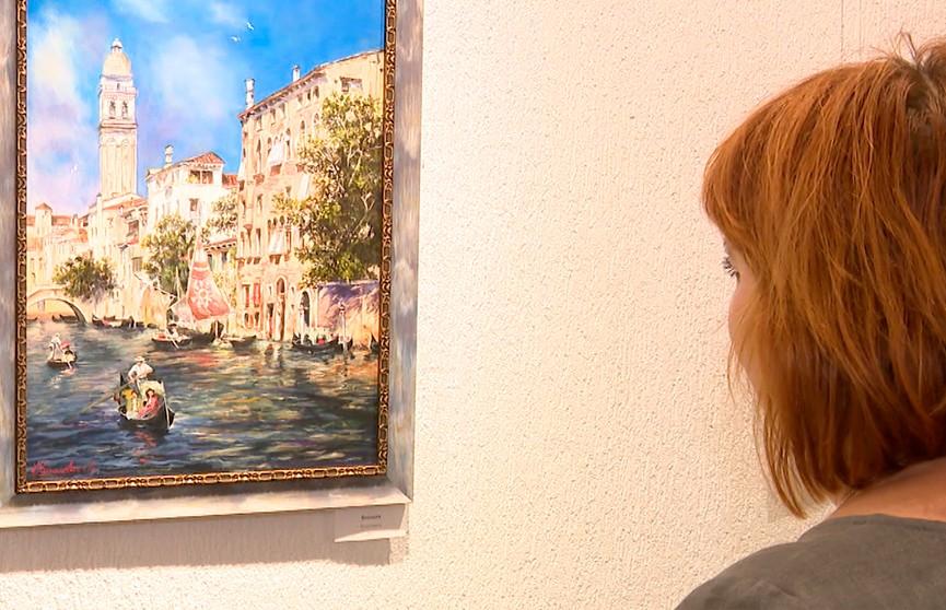 Персональная выставка картин Людмилы Курилович проходит во Дворце Республики