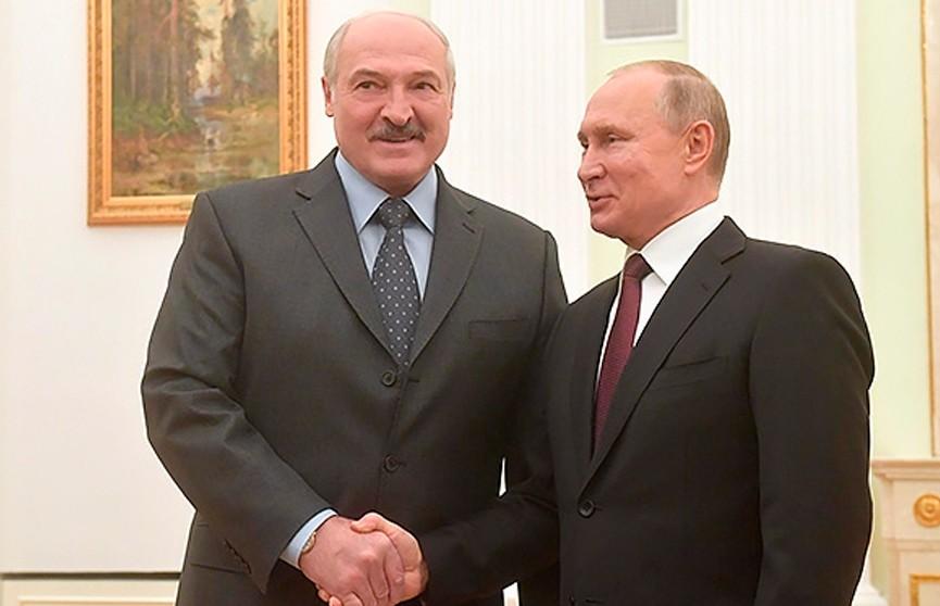 Александр Лукашенко на встрече с Владимиром Путиным: Многие проблемы надо решать на перспективу