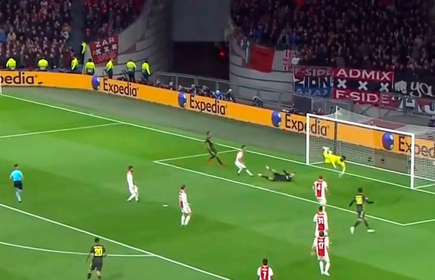 «Аякс» и «Ювентус» сыграли вничью в четвертьфинале футбольной Лиги чемпионов