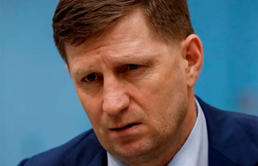 В России арестован губернатор Хабаровского края, его подозревают в организации убийств