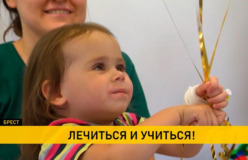 В детской областной больнице Бреста открылась игровая комната