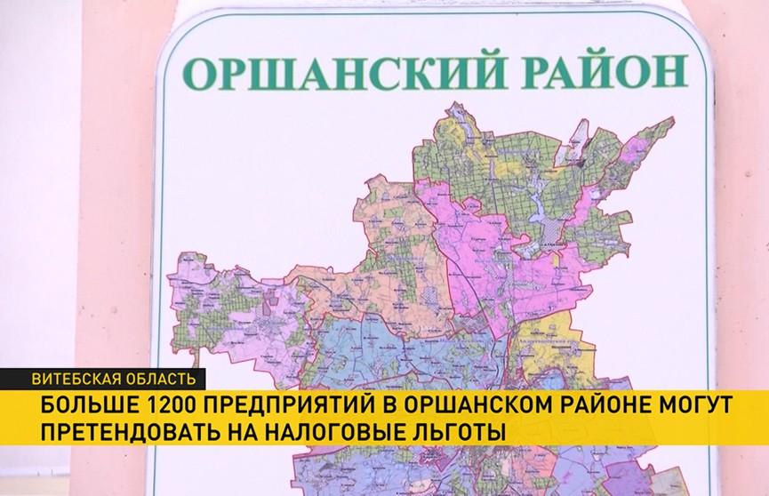 Детали Указа о развитии Оршанского района: более 1200 предприятий получат налоговые льготы