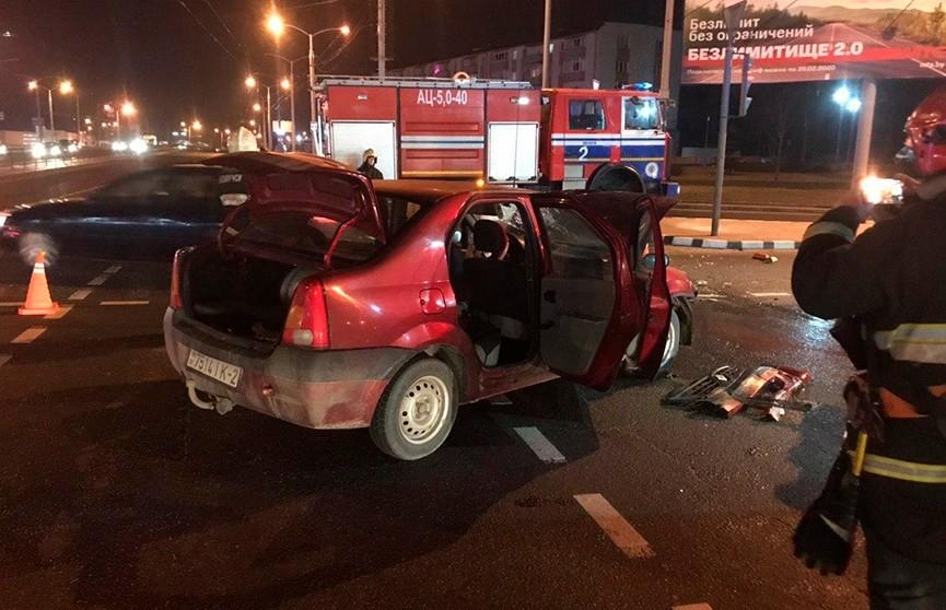 Три человека пострадали в результате ДТП в Минске