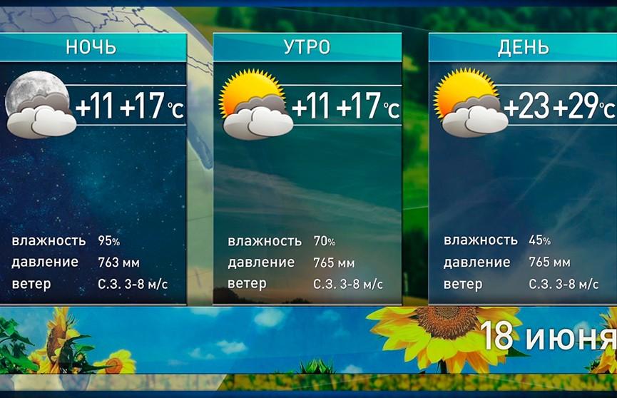 Жара отступает, но ненадолго. Прогноз погоды на 18 июня
