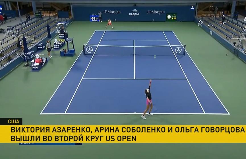 5 белорусских теннисисток вышли во второй круг открытого чемпионата США