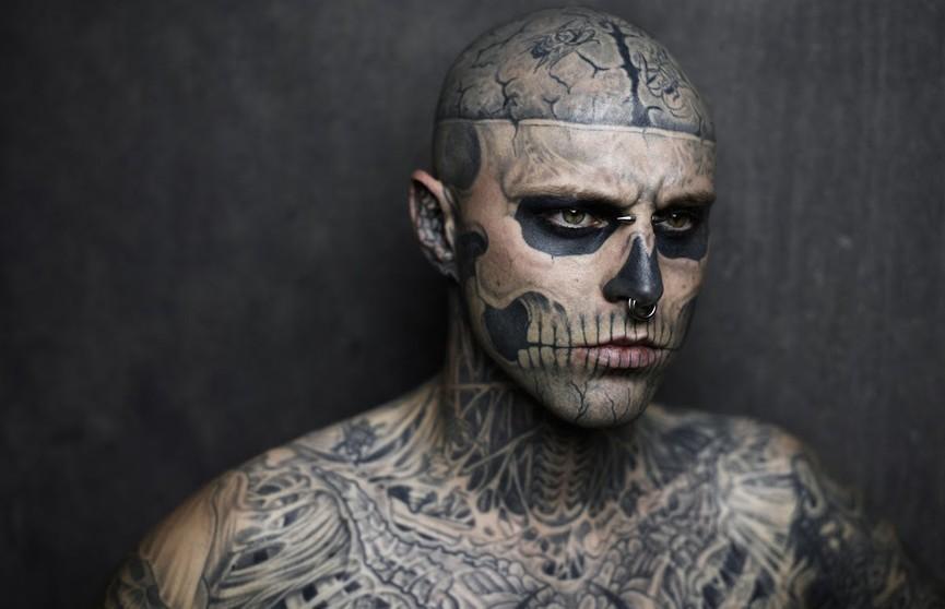 «Это не самоубийство»: названа причина смерти тату-модели Zombie Boy