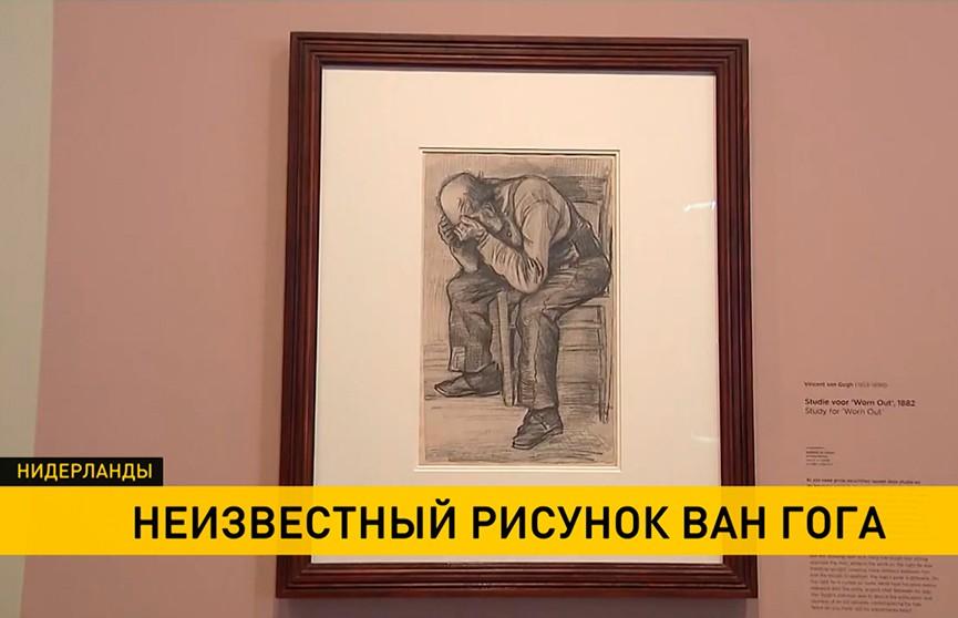 В Нидерландах открылся показ ранее не известной работы Ван Гога