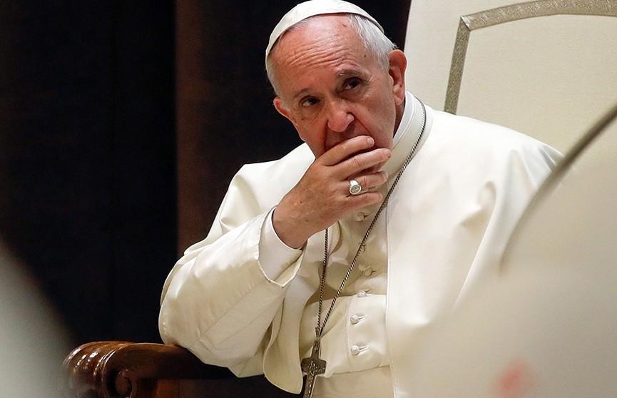 Папа Римский Франциск сдал тест на коронавирус
